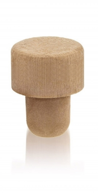 Synthetic pourer  with Synthetic cap effect imitation wood 29x18