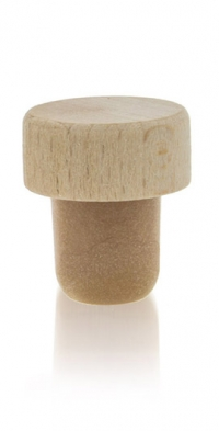 Synthetic Pourer  with Wooden cap